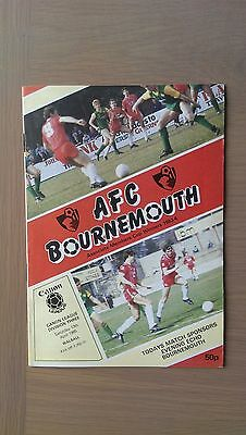 Bournemouth V Walsall 1984-85