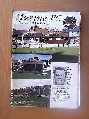 Marine V Bamber Bridge 1998-99