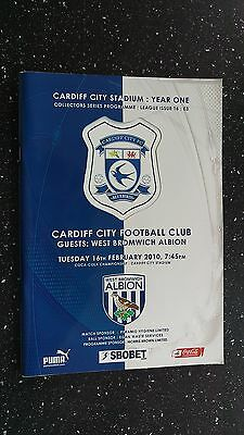 Cardiff City V West Bromwich Albion 2009-10
