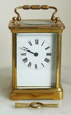 Brass Carriage Clock in good working order
