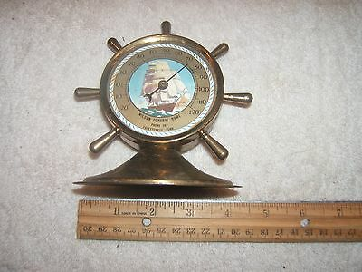 VINTAGE 1950s Advertising Thermometer Wilson Funeral Home Fayetteville TN