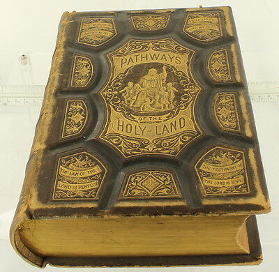 Antique 1875 Religious Book Pathways of the Holy Land Palestine Syria McCabe