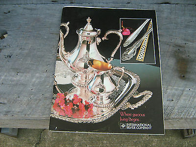 1979  International Silver Company  Jewelry Store Sales Booklet With Prices