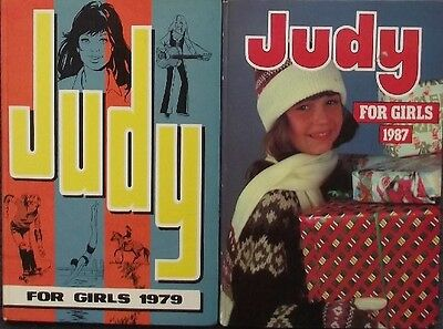 Collection Job Lot Book Bundle - 2 x Judy Annuals 1979 and 1987