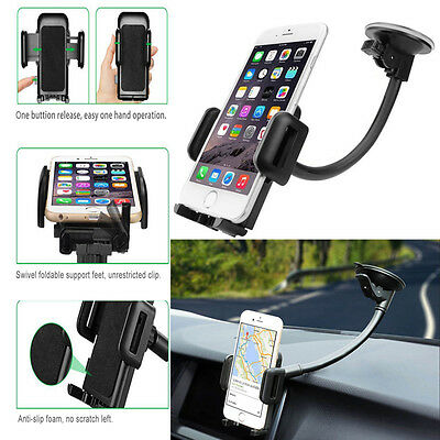 Universal Car Windshield Dashboard Suction Cup Mount Holder Stand For iPhone 7