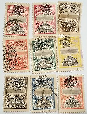 El Salvador 1907  Used  Stamps.....worldwide Stamps