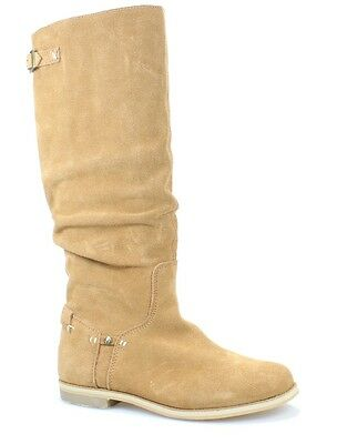 Reef NEW Brown Shoes Size 7M Slouch Pull-On Knee-High Suede Boots $145 #430 DEAL