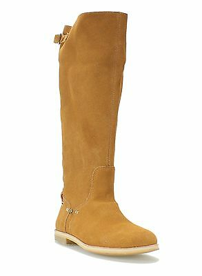 Reef NEW Brown Desert Shoes 8M Knee-High Buckle Strap Suede Boots- $145- #466