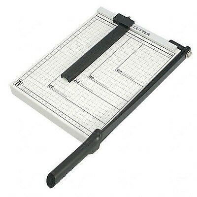 "PAPER CUTTER - 10"" x 10"" inch - METAL BASE TRIMMER NEW"