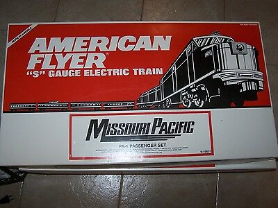 Lionel American Flyer # 49601 Missouri Pacific Eagle Set Alco-A Powered