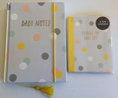 Kikki.K Books Baby Notes And Things My Kids Say Pregnancy Planner Baby Neverused