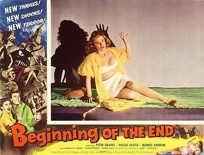 BEGINNING OF THE END great lobby to 8x10 still sci-fi film -- (lc030)