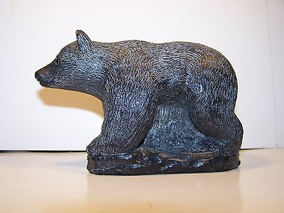 Bear Figurine/sculpture By Wolf Originals-Hand Made In Canada