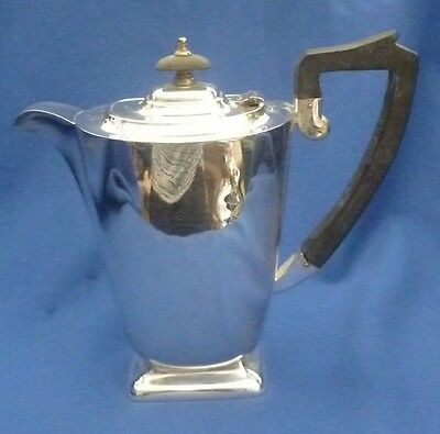 Edward Of Glasgow Silver Plate Vintage Tea Pot ~ Stunning Piece !