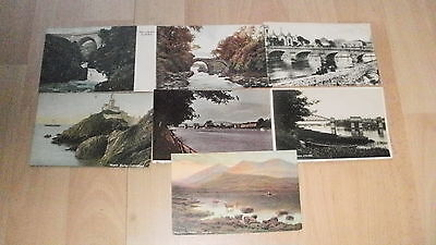 7 x Ireland Including Artist Signed & RP PC