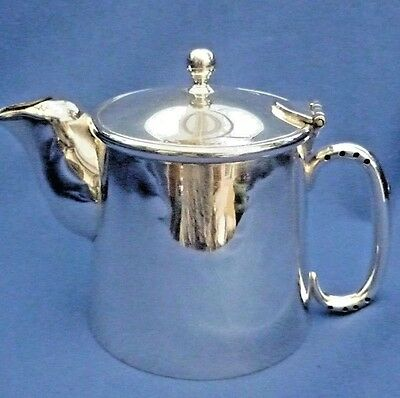 National Plate Silver Plate Vintage Tea Pot ~ Made In England