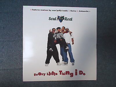 "Soul For Real Every Little Thing I Do 12"" MCA Records 1996 MCST 48005"
