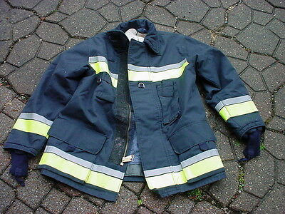 Bristol New Old Stock Turnout Coat Fireman Firefighter Fire Dept 042317-