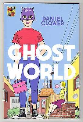 DANIEL CLOWES - Ghost World - 2000 UK Paperback 1st Edition