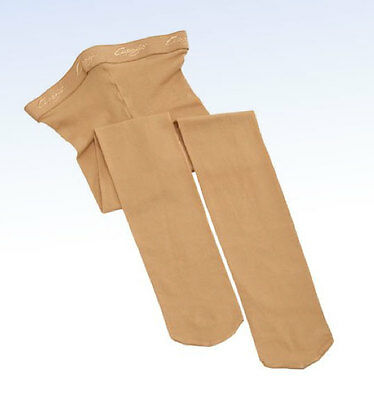 CAPEZIO Little Girls' N14C Toddler HOLD & STRETCH Footed Tight CARAMEL - T