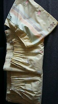 Lined Nursery Curtains Mothercare perfect condition