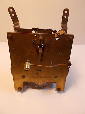 Enfield Striking 8 Day Mantel Clock Movement for SPARES REPAIRS Steam Punk Gears