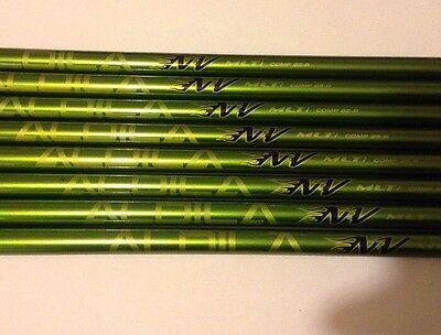ALDILA NV MLTi 85 Regular flex iron shafts 3 to PW NEW uncut