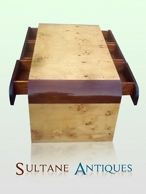 Outstandind Art Deco Style six drawers coffee table