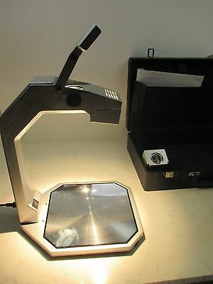 Apollo Cobra VS3000 A Overhead Projector Teaching Unit Hard Case Works Portable