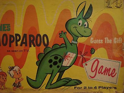 1964 Vintage Toy The Flintstones Hoppy The Hopparoo Hanna Barbera Transogram