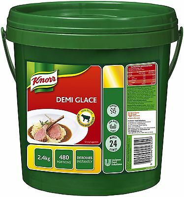 *Bulk Buy* KNORR Sauce Demi-Glace 2.4kg pail *Free postage on ALL items*