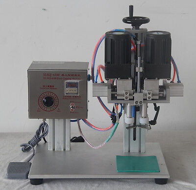 XLSGJ-6100 Desktop Medical bottle capping machine,chemical,Cosmetic,round