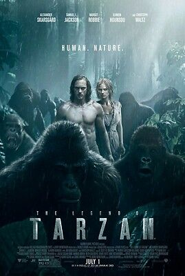 THE LEGEND OF TARZAN great original ds 27x40 movie poster