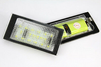 BMW 3 E46 Coupe 98-03 License Licence Number Plate LED Lamp Light