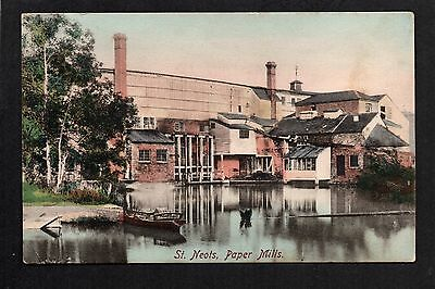 St. Neots Paper Mills - colour printed postcard