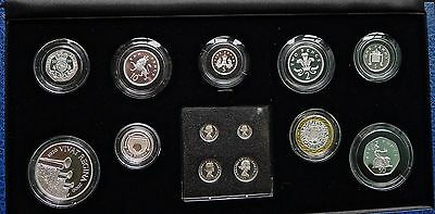 2006 Royal Mint SILVER Proof 13 coin set Crown to Maundy