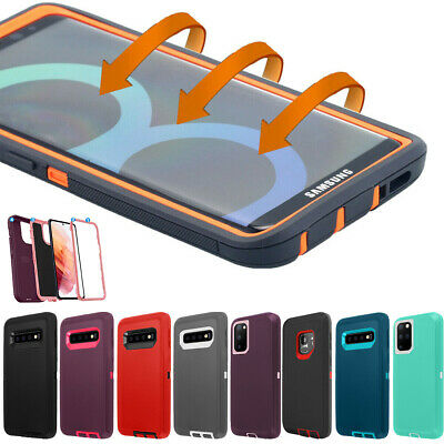 Samsung Galaxy S9 S8 Note 8 9 Hard Case Shockproof Hybrid Tough Armor Full Cover