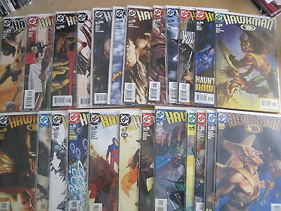 HAWKMAN : COMPLETE 49 ISSUE 2002 DC SERIES by GEOF JOHNS, GRAY, PALMIOTTI etc