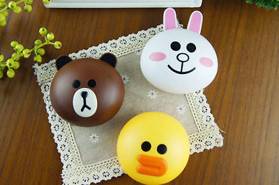 Cute Line Friends Eye Contacts Lens Case Box Container Holder Pocket Travel Kit
