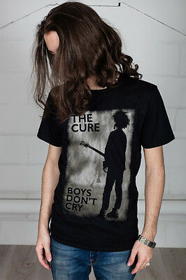 Official The Cure Boys Don't Cry Unisex T-Shirt Seventeen Seconds Bloodflowers