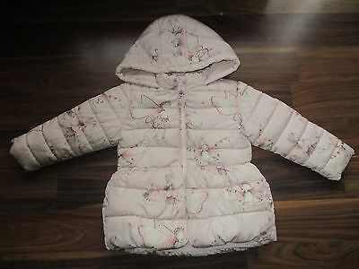 Girls NEXT pretty fairy design jacket coat 18-24 months VGC