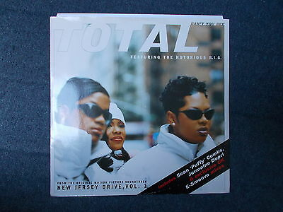 "Total Featuring Notorious B.I.G. Can't You See 12"" Tommy Boy 1995 TBV 700"
