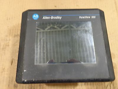 Allen Bradley Panelview 600, 2711-T6C20L1 B F 4.46, Good Used Take Out