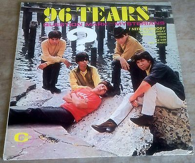 QUESTION MARK AND THE MYSTERIANS 96 tears 1966 US CAMEO MONO GARAGE VINYL LP