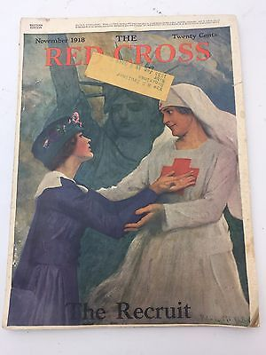 Vintage Magazine The Red Cross November 1918 issue (H2)