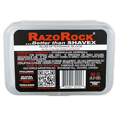 RazoRock Alum Block & Case **OZ SELLER**FAST POST**