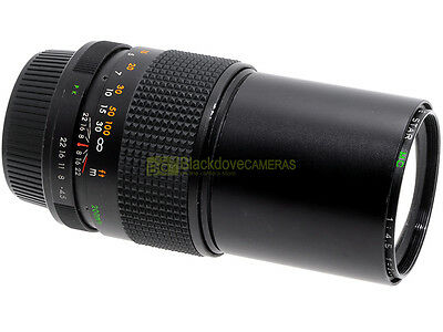 Pentax K, Tele Obiettivo Five Star MC 200mm. f4,5. Compatibile con digitali.
