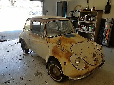 1970 subaru 360 microcar with Parts car