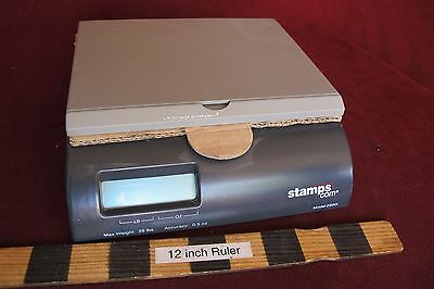 New Stamps.com 25 pound shipping scale 25Lb nice