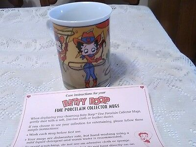 Danbury Mint Betty Boop Cup - On The Ropes. With Paper